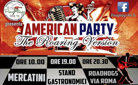 AMERICAN PARTY – The Roaring Version