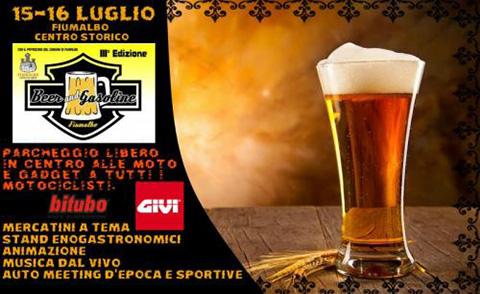 Beer & Gasoline 3° Festa Della Birra Con I Motori